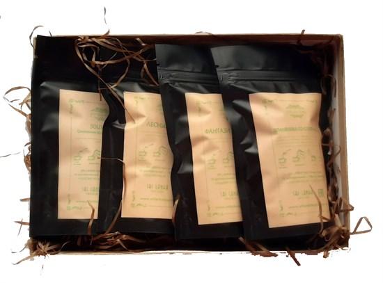 Giftbox green fruit teas photo