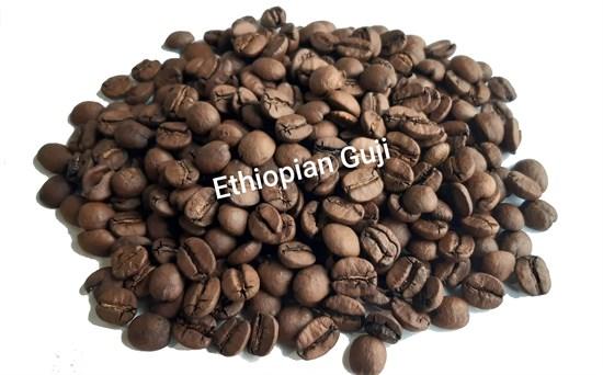 Кофе в зернах Эфиопия Гуджи фото